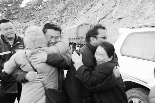 施汉琼:西藏局救援组接到樟木局干部职工