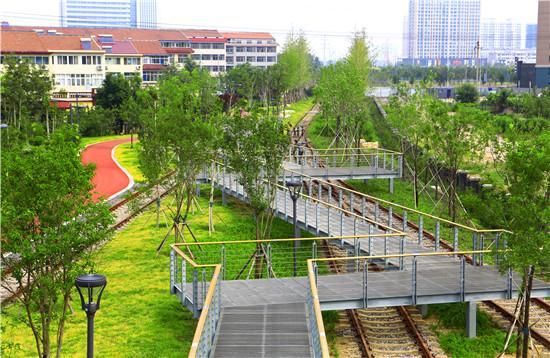 ▲寿光市铁路公园。