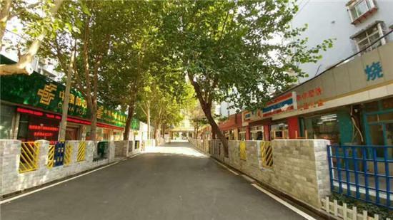 ▲济南市市中区杆石桥街道乐山小区社区改造提升项目。