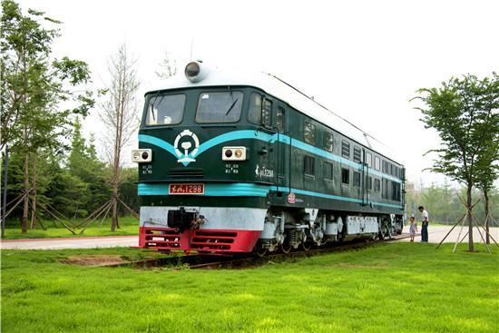 寿光市铁路公园。