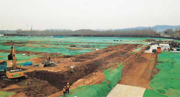 建设中的德国费斯托集团全球生产中心项目。