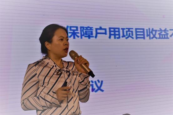 中国投资协会专家顾问、高级工程师王淑娟