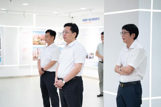陈飞市长走访北京科技园建设集团股份有限公司