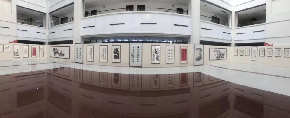 庆祝新中国成立70周年,省委党校举办中华传统美德书画精品特展