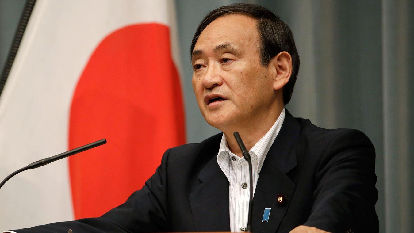 自民党新总裁菅义伟正式当选日本第99任首相。