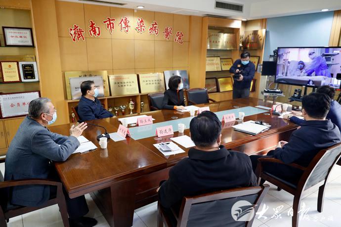 刘家义在济南调研指导疫情防控工作