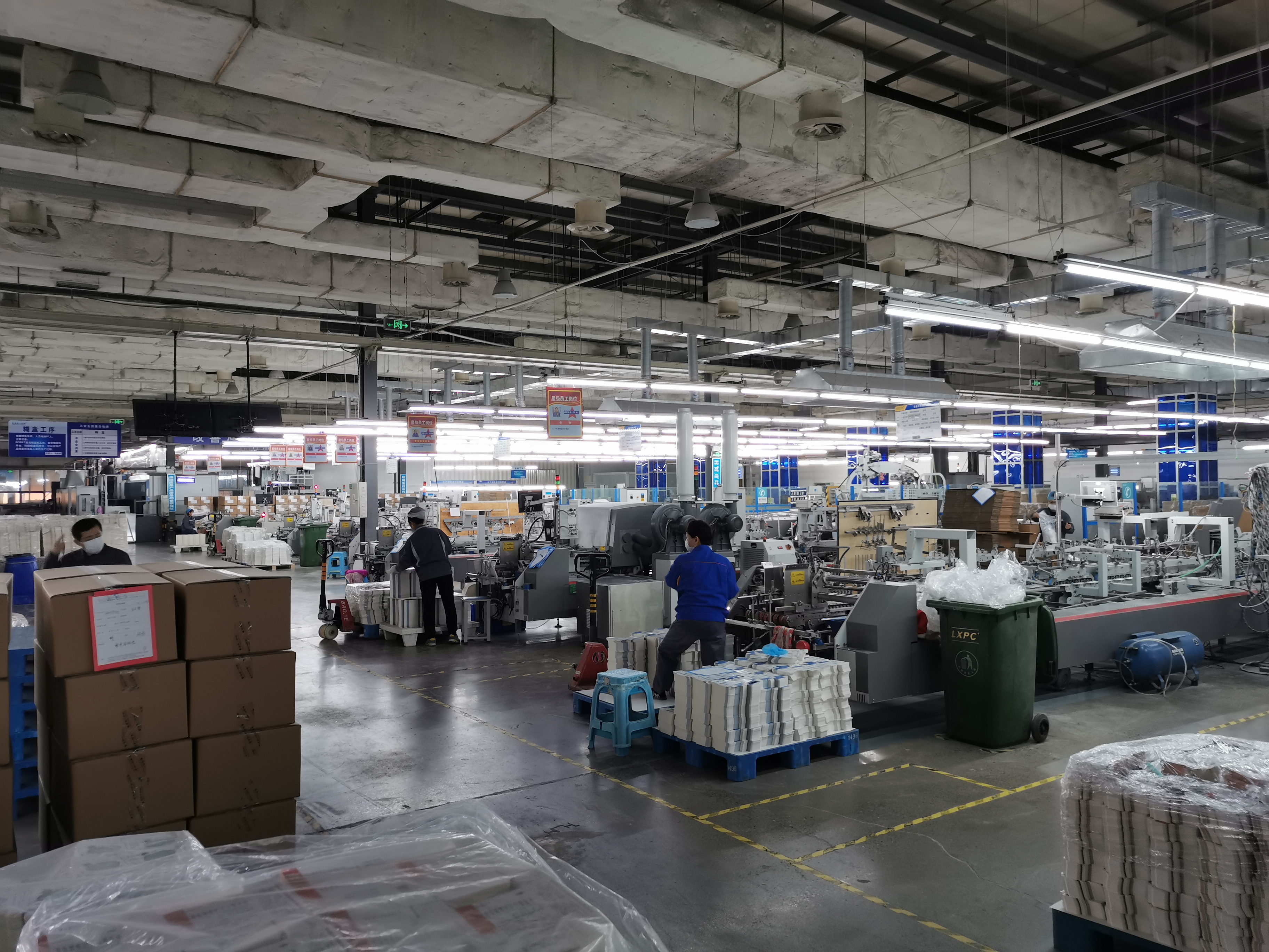 鲁信天一开足马力确保日产药盒600万只以上。