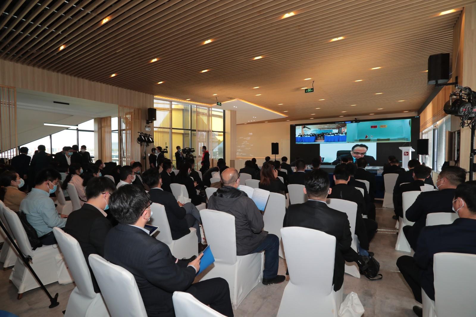 """中日绿色技术交流会在青岛日本""""国际客厅""""线上举行"""