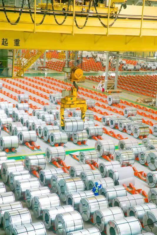 山钢集团日照公司拿到石化龙头企业项目 拓宽高端产品市场领域