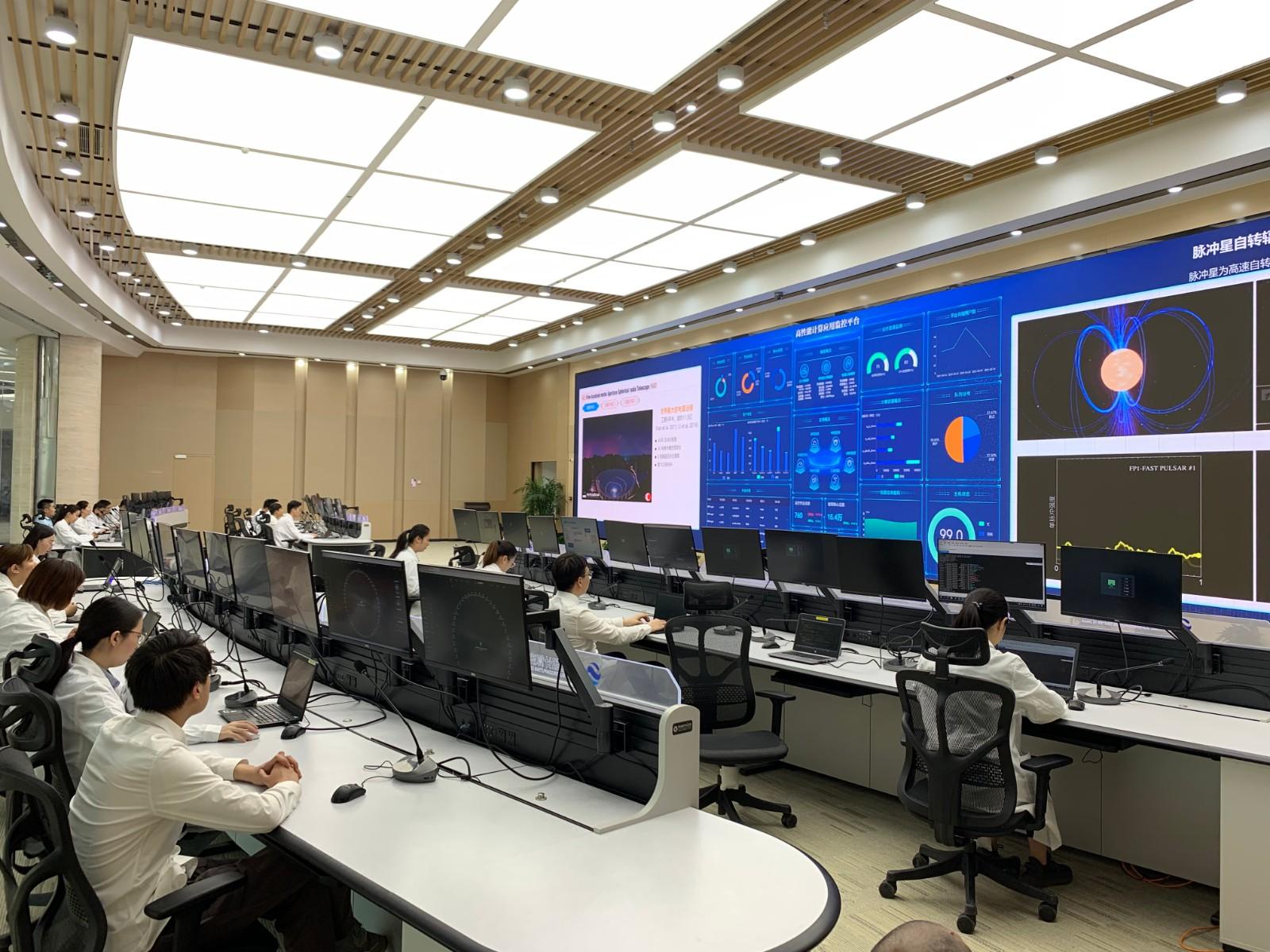 国家超算济南中心ECC大厅