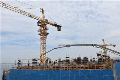 """中国钢研""""一院一园""""项目施工现场"""